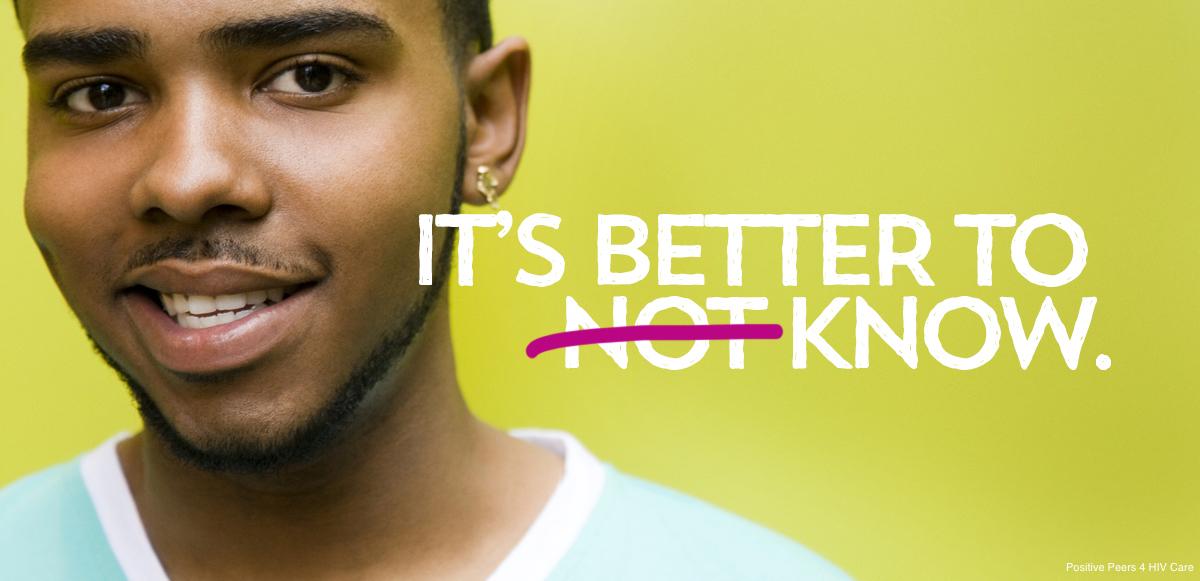 hiv test-positive-peers