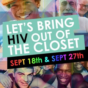 Two HIV events you should check out in September