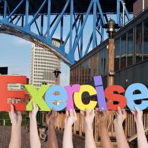 Free ways to get active in Cleveland