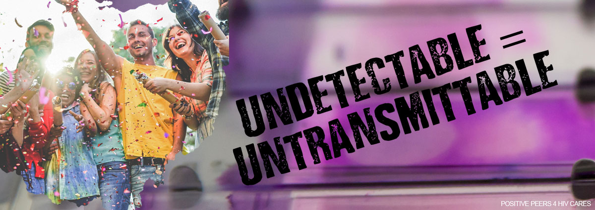 Undetectable=Untransmittable