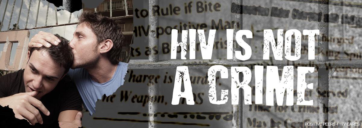 HIV criminalization-positive peers