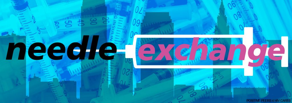 Needle exchange - positive peers