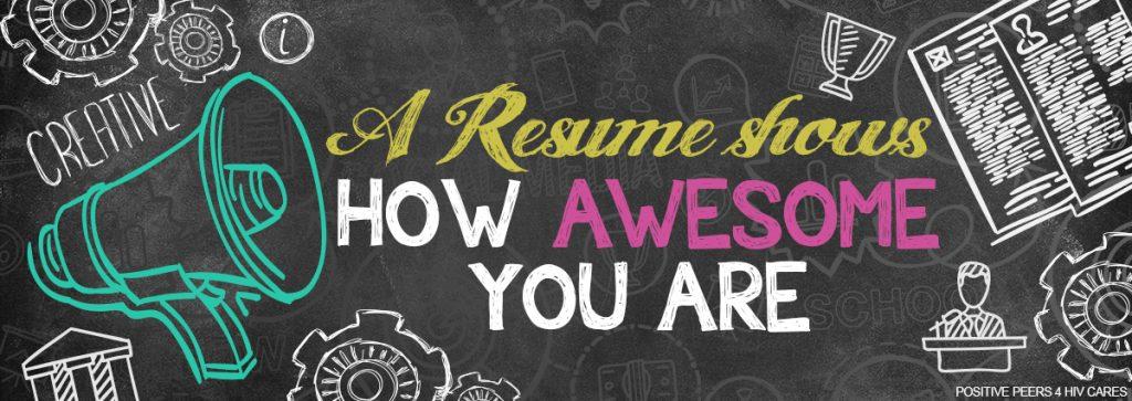 Resume - positive peers