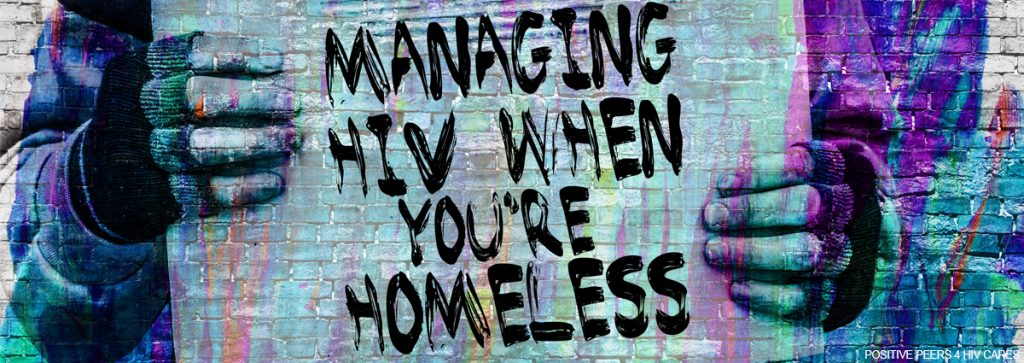 Homeless-HIV-positive peers