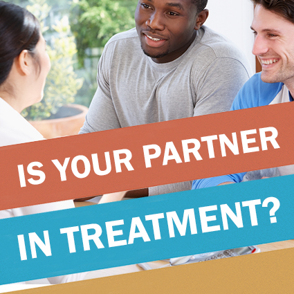 Is your partner in HIV treatment