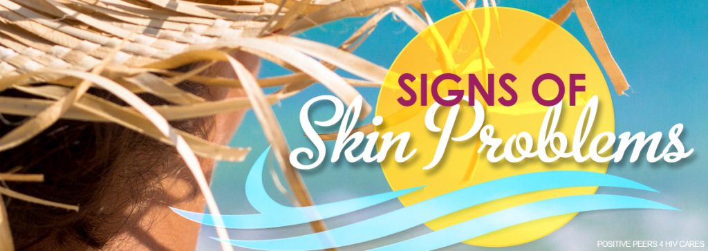 Signs of skin problems