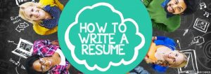 How to write a resume _ Positive Peers