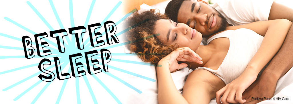 A man and woman cuddling asleep on a bed